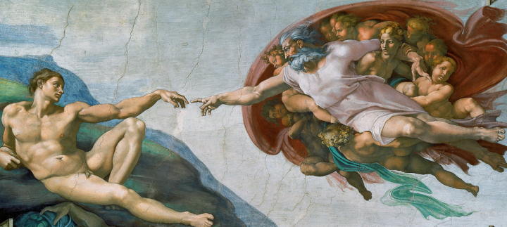 Creation of Adam by the Lord