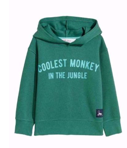 Coolest Monkey Sweatshirt
