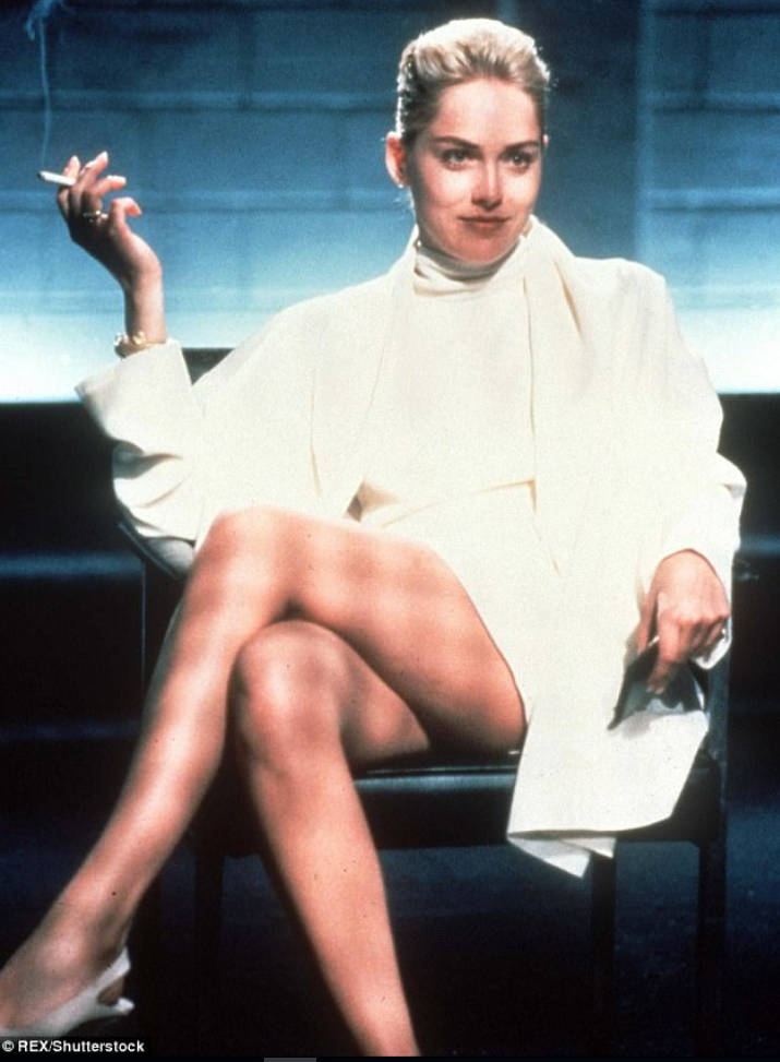 Sharon Stone No Underwear in Basic Instinct