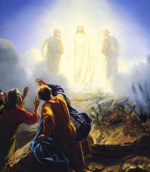 Jesus Moses and Elijah
