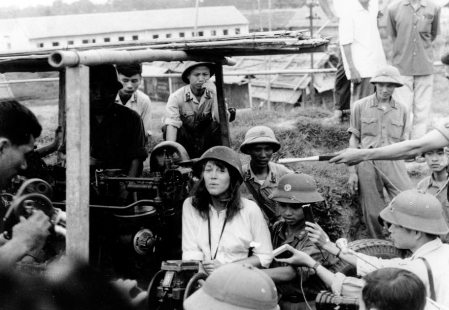 Hanoi Jane with North Vietnamese