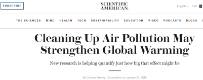 https://www.scientificamerican.com/article/cleaning-up-air-pollution-may-strengthen-global-warming/