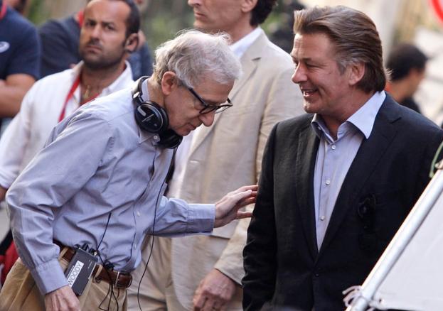 Alec Baldwin and Woody Allen