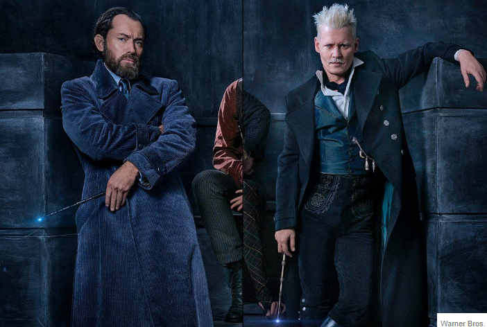 Dumbledore with Grindelwald