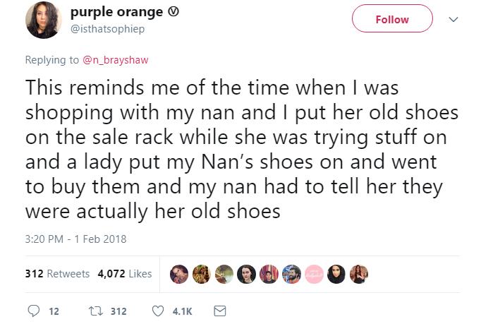 Used Shoe Story