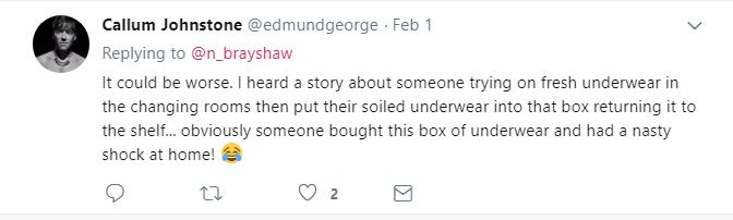 dirty underwear story