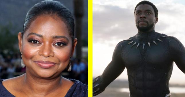 Octavia Spencer and Black Panther