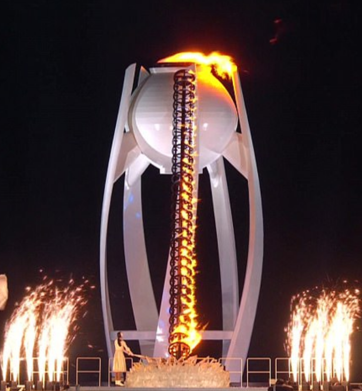 Olympic Torch Lighting Ceremony, Robotic Penis