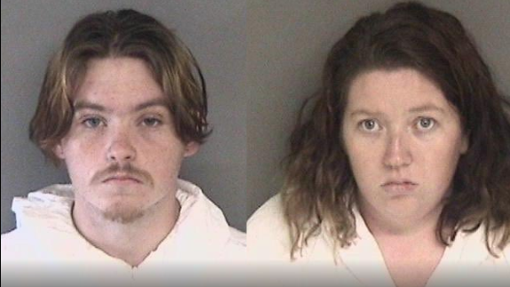 arrest Daniel Gross, 19 and Melissa Leonardo, 25, both of Modesto