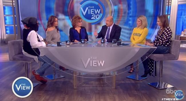 Joy Behar and the View Panel